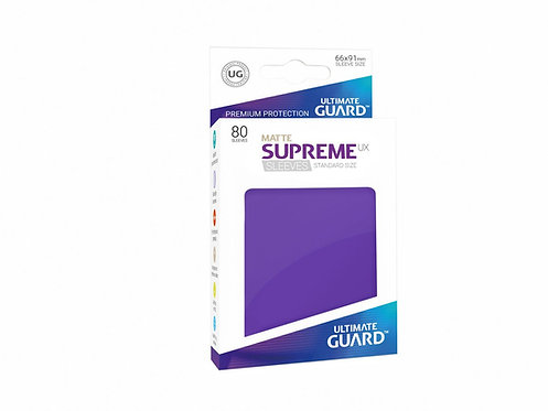 Ultimate Guard Supreme UX Sleeves Standard Size Matte Purple