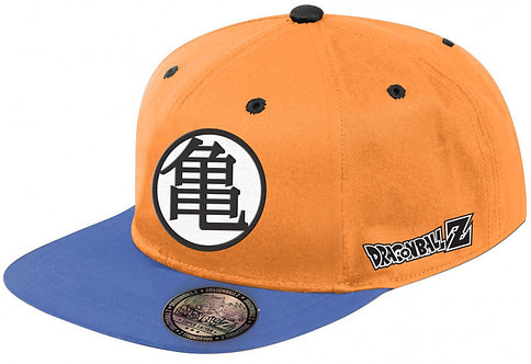 Dragonball Z Cap Blue Orange Logo