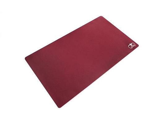 Ultimate Guard Play Mat Monochrome Bordeaux Red 61 x 35 cm