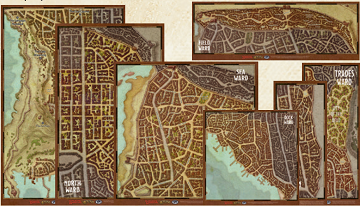 D&D Waterdeep Dragon Heist Map Set