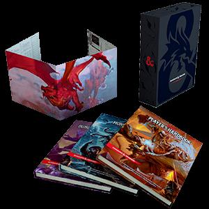 D&D Core Rulebook Gift Set