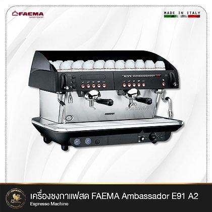 เครื่องชงกาแฟสด Faema Ambassador E91 A2 Espresso Machine