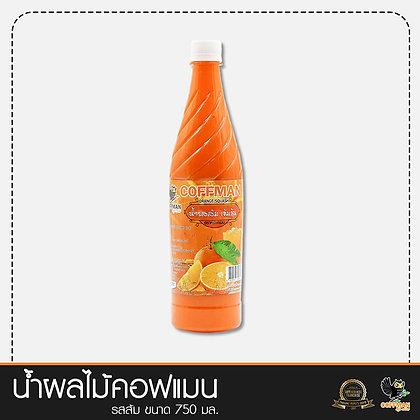น้ำผลไม้เข้มข้น รสส้ม Orange Concentrated Syrup