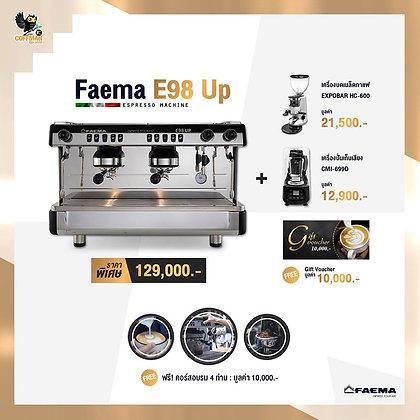 เซ็ทเครื่องชงกาแฟสด Faema E98 UP A2 | Set.1
