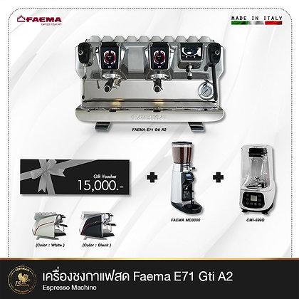 เซ็ทเครื่องชงกาแฟสด Faema E71 Gti A2