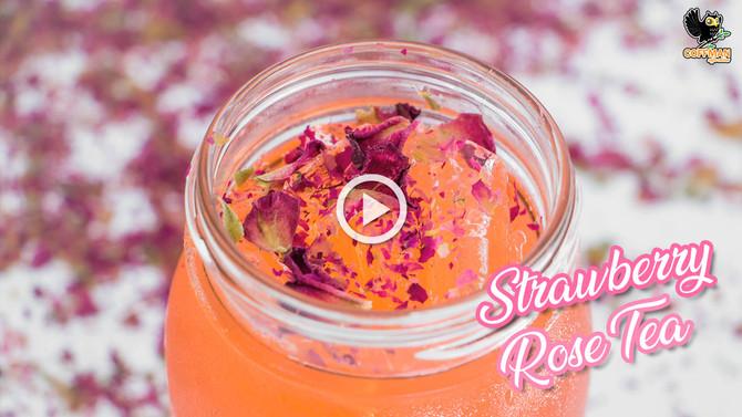 เมนู Strawberry Rose Tea