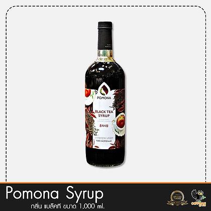 Pomona ไซรัปกลิ่น แบล็คที Black Tea Syrup