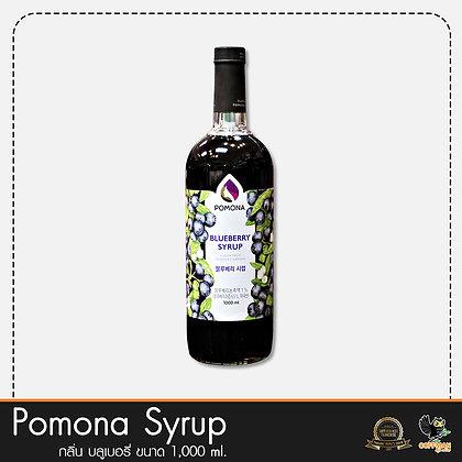 Pomona ไซรัปกลิ่น บลูเบอรี่ Blueberry Syrup