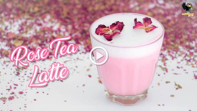 เมนู Rose Tea Latte