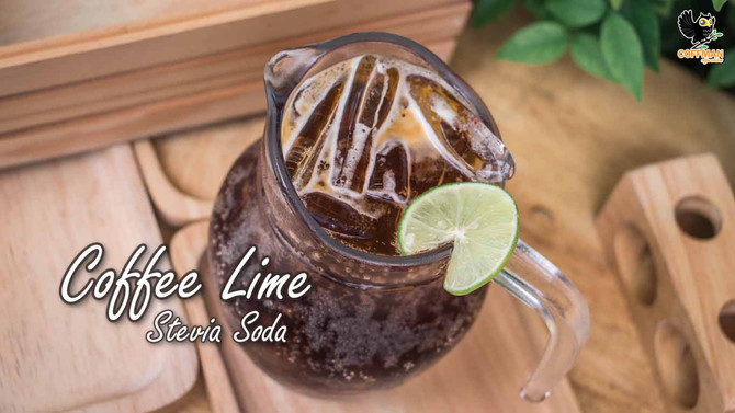 เมนู Coffee Lime Stevia Soda