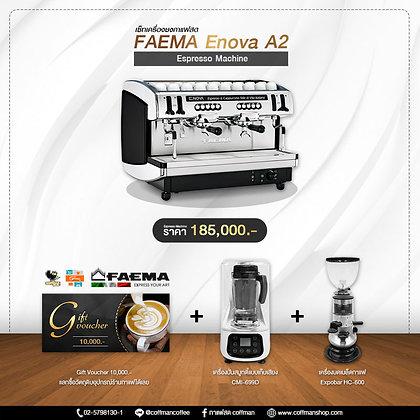 เซ็ทเครื่องชงกาแฟสด Faema Enova A2