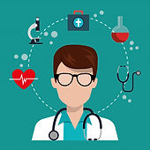 man-doctor-with-medical-services-icons_2