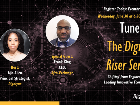 The Digital Riser Series with Special Guest Frank King