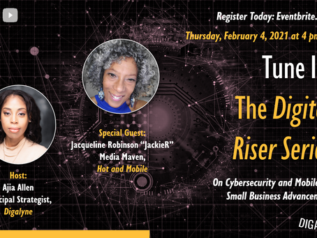The Digital Riser Series with Special Guest JackieR