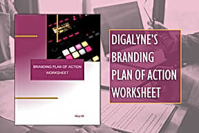 Digalyne Branding Plan of Action Worksheet