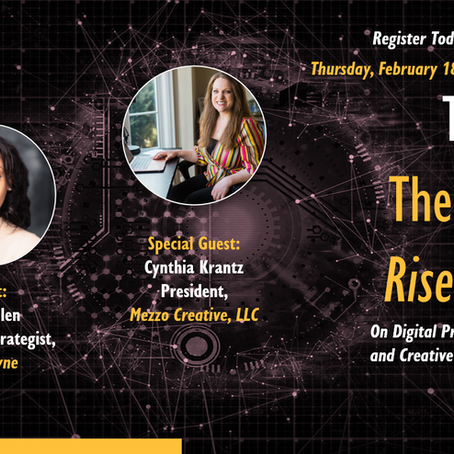 The Digital Riser Series with Special Guest Cynthia Krantz