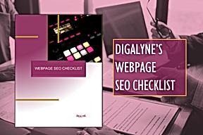 Digalyne Webpage SEO Checklist
