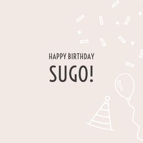 Buon Compleanno Sugo!