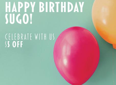 Happy Birthday Sugo!