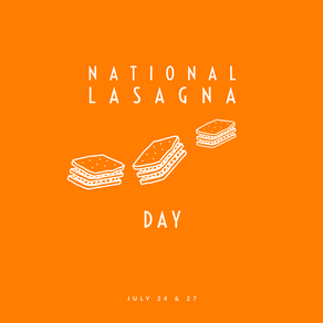 Lasagna Day 2019