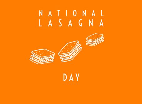 Lasagna Day 2019
