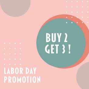 Labor Day Promo