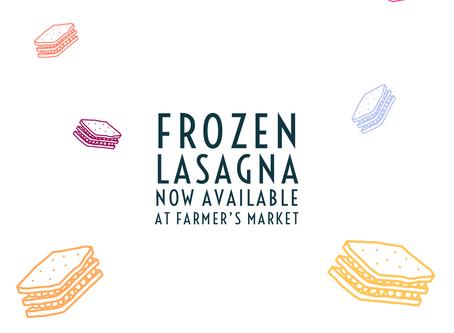 Lasagna for everyone!