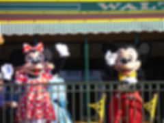 Mickey Mouse and Minnie Mouse, Magic Kingdom, Walt Disney World