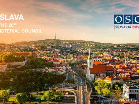 Úspešné poskytnutie dátových a aplikačných služieb pre zasadnutie rady ministrov OBSE v Bratislave