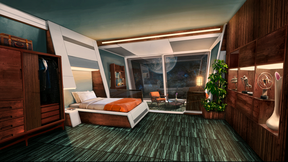 Your own luxurious private cabin
