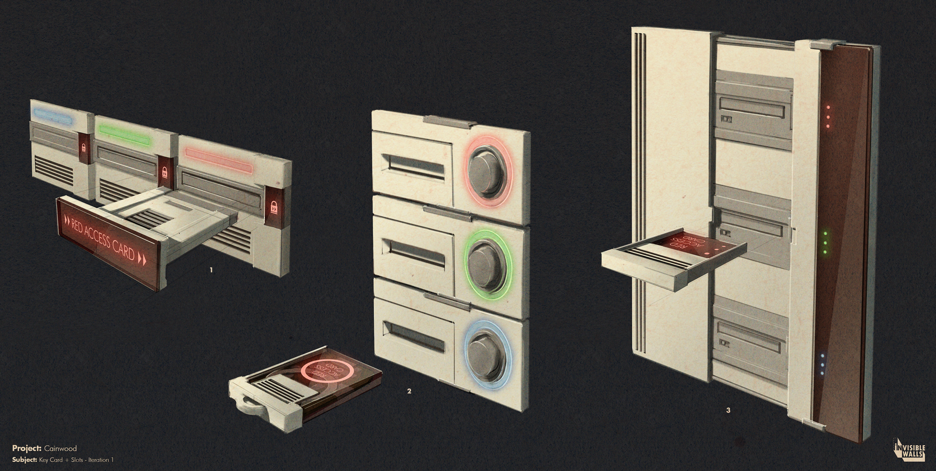 ConceptArt-KeyCardSystem- Iteration-1