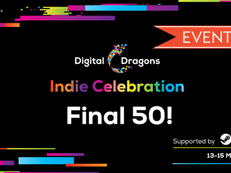 First Class Trouble qualified in the Digital Dragons Indie Celebration - May 13th-15th