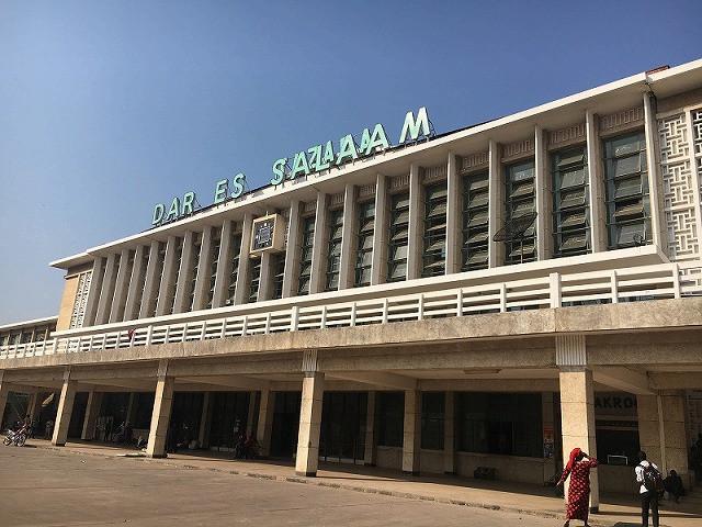 ダルエスサラーム駅駅舎