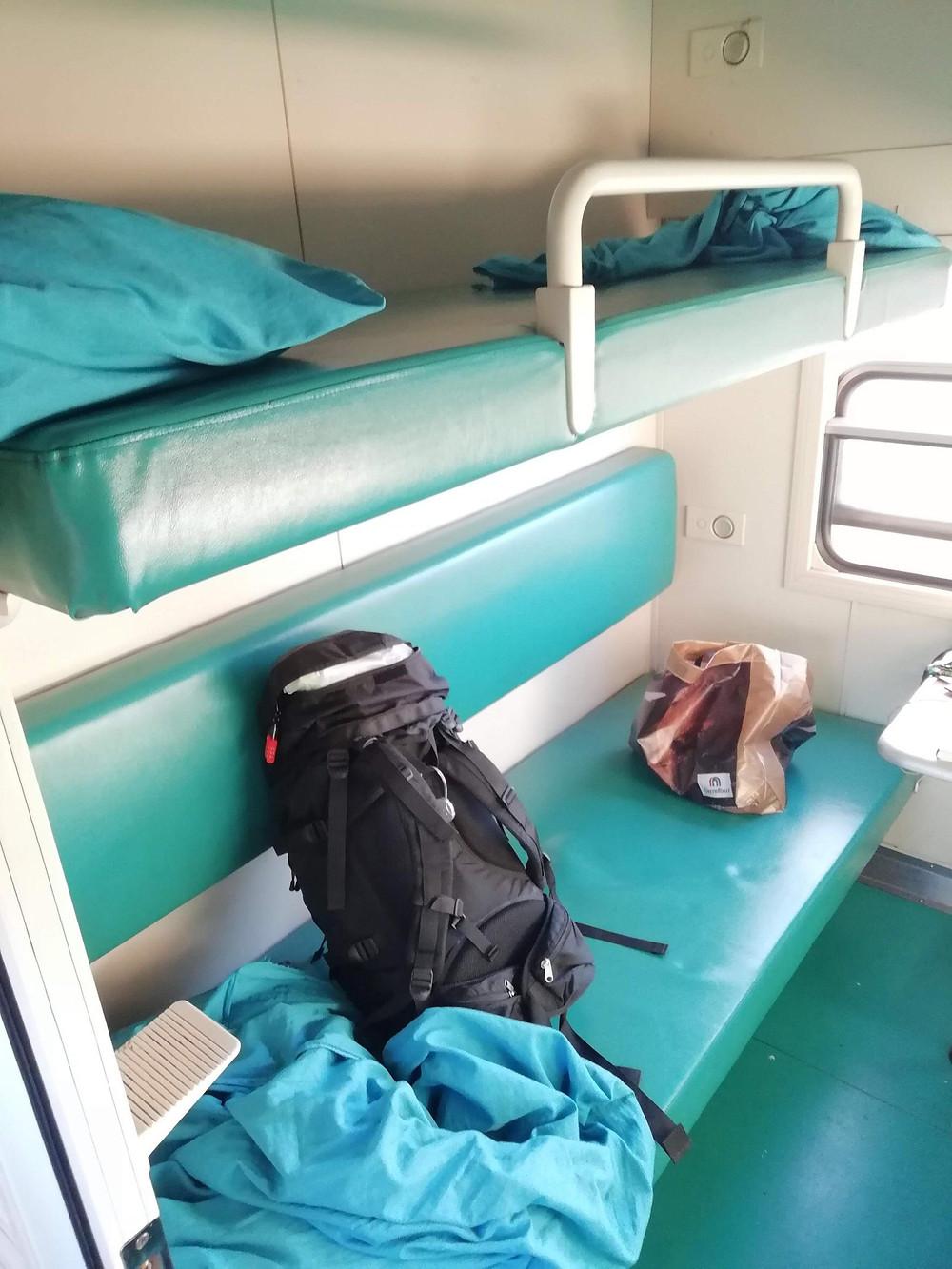<1等>4人部屋寝台付き(2段ベッドx2)