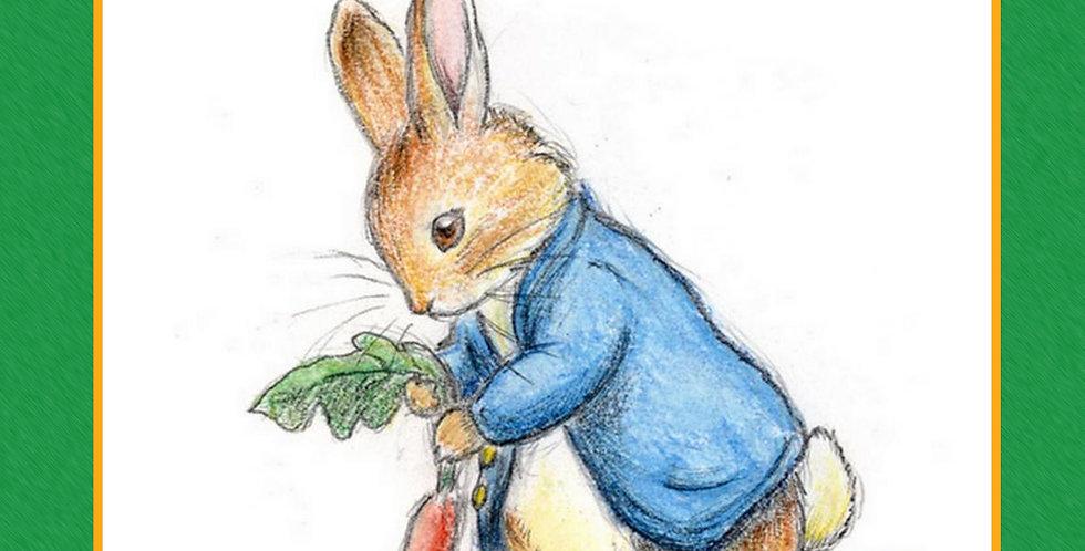 petter kanin lydbok norsk eventyr barn barneforlaget