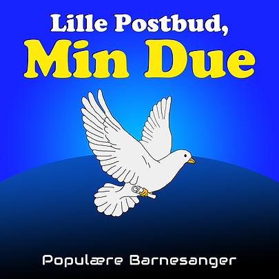 lille postbud min due barnesanger barneforlaget