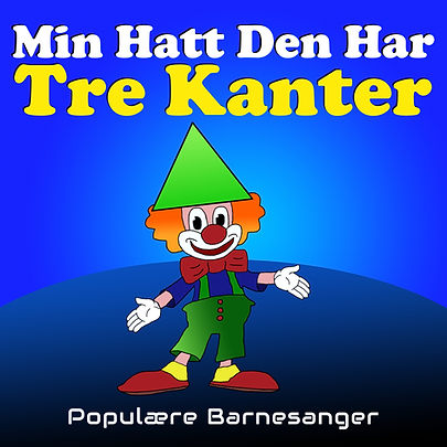 min hatt den har tre kanter barnesanger barneforlaget