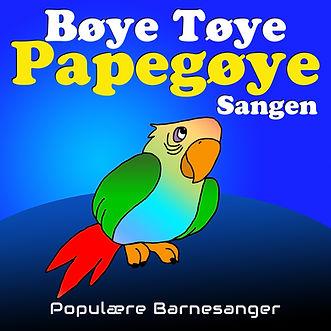 telst bøye tøye papegøye sangen barnesang