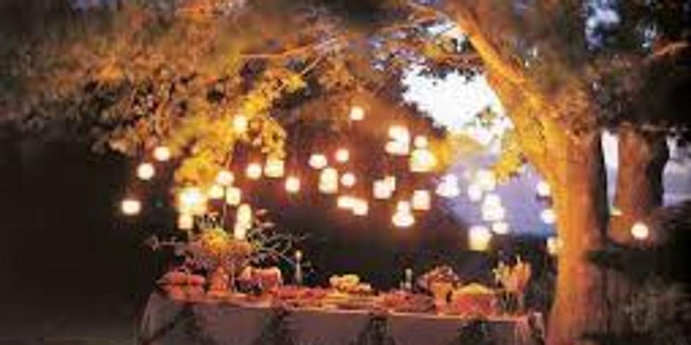 ''Café'' du soir en extérieur (1)