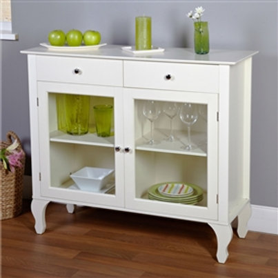 Home > Dining > Sideboards & Buffets > Antique White Sideboard Buffet Console