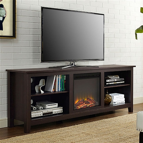 Home > Accents > Electric Fireplaces > Espresso 70-inch Electric Fireplace TV