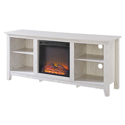 Home > Accents > Electric Fireplaces > Whitewash 58-inch TV Stand Electric Fi
