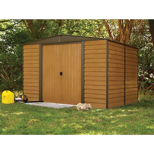 Home > Outdoor > Storage Sheds > Outdoor 10 x 12-ft Steel Storage Shed With W