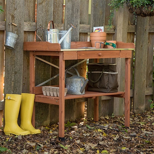 Home > Outdoor > Gardening > Potting Benches > Durable Weather Resistant Wood