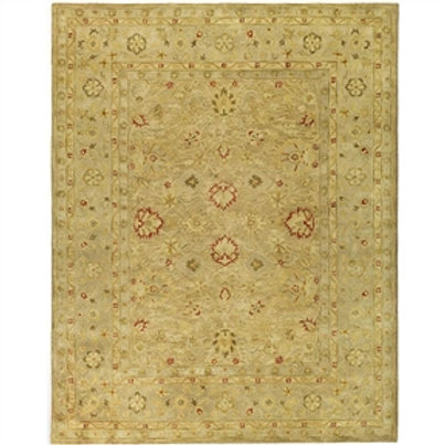 Home > Accents > Rugs > Handmade Majesty Light Brown/ Beige Wool Rug (9'6 x 1