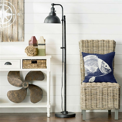 Home > Lighting > Floor Lamps > 65-inch Tall Floor Lamp Task Light in Distres