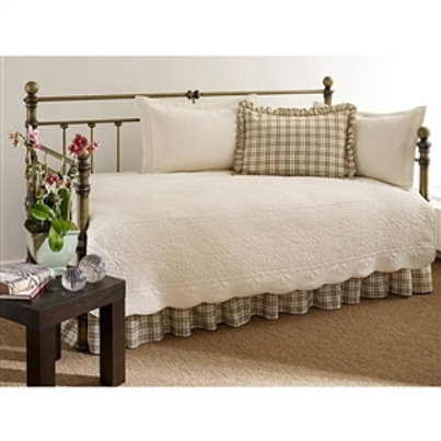 Home > Bedroom > Comforters and Sets > 100-Percent Cotton 5-Piece Daybed Bedd