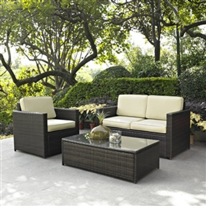 Home > Outdoor > Outdoor Furniture > Patio Furniture Sets > 3-Piece Outdoor P