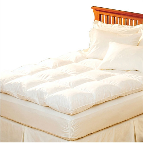 Home > Bedroom > Mattress Toppers > Queen size Feather Bed Topper with 100-Pe
