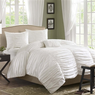 Home > Bedroom > Comforters and Sets > King size 4 Piece Comforter Set in Rou